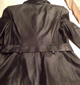Куртка кожа женская новая р.М