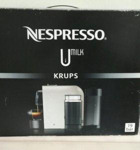 Кофемашина Nespresso Umilk Krups