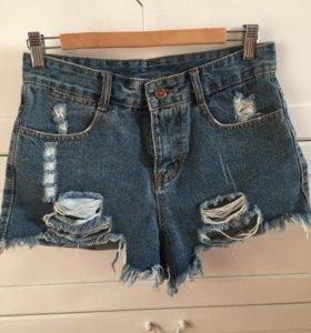 Шорты джинсовые М🌹🌸