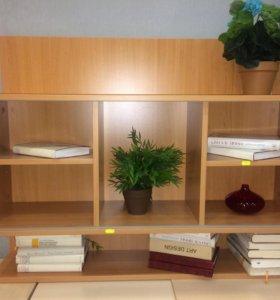Настенный книжный шкаф