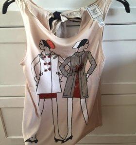Блуза с бантом mango-uterge🌸💐