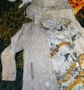 Куртка демисезонная 6-7 лет