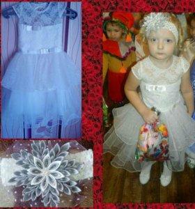 Платье+ ободок
