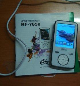 mp3 плеер ritmix rf-7650