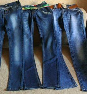 Новые джинсы 25 размера
