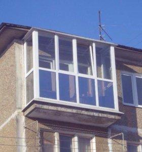 Отделка балконов Линия Окон