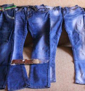 Новые джинсы 28 размера