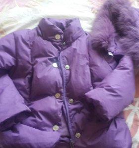 Зимняя куртка для девочки Pulka