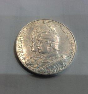 Германия 5 марок Пруссия