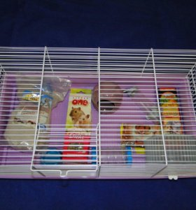 Клетка для грызунов.новая.