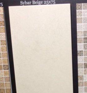 Бежевая плитка Saloni, цвет Sybar beige