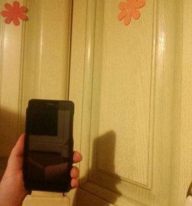 Смартфон+кожанный чехол