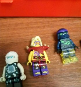 Лего ниндзяго 2 фигурки и причёски