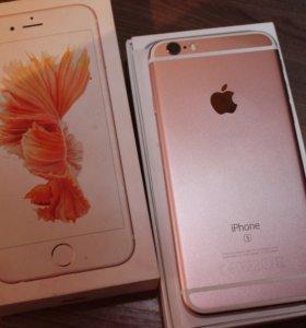 iPhone 6s 16 гб Gold Rose