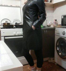 Пальто кож