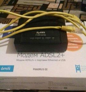 Модем Zyxel p-600