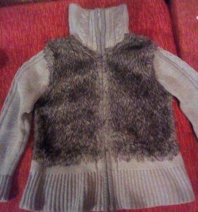 Кофта для девочки (свитер )