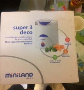 Стерилизатор пароварка MinilandSuper 3 deco