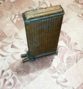 Радиатор печки ваз 2108 - 15 новый медный .