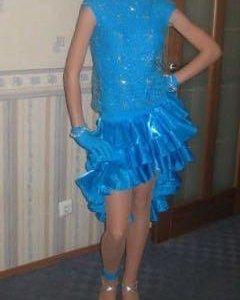 Платье танцевальное LA