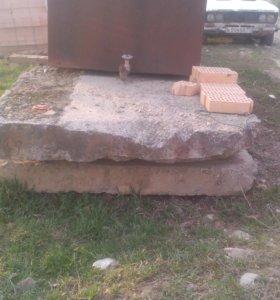 Плиты дорожные размер 7м 1.5м