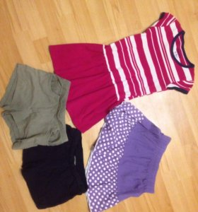 Платье , юбка, шорты