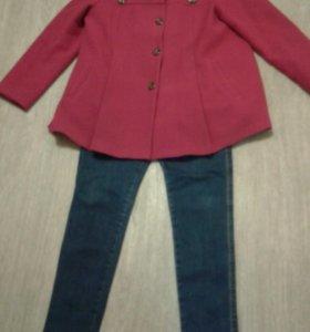 Джинсы и пальто  для беременных