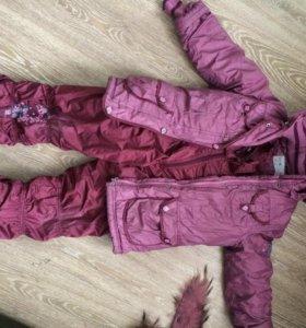 Зимний полукомбинезон и куртка