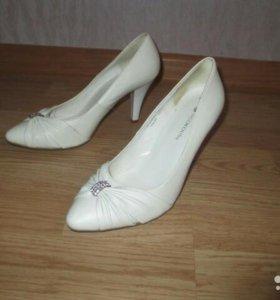 Туфли свадебные Италия