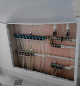 Отопление водоснабжение электрика.