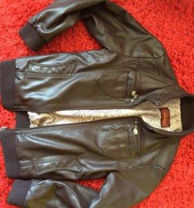 Куртка на мальчика рост 110-128