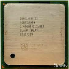 Pentium 4 soc 478 2.4/512/800