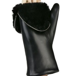 НОВЫЕ Женские кожаные перчатки eleganzza