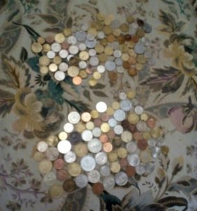 Монеты 18стран