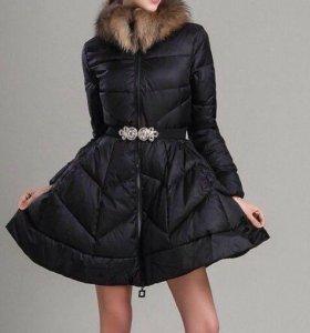 Пуховик - платье
