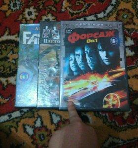 Три упаковки под диски