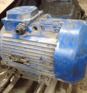 Электродвигатель 5,5 кВт 380