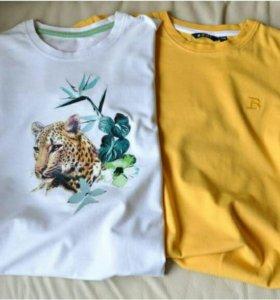 2 футболки по 100 рублей