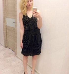 Новые вечерние платья с паетками
