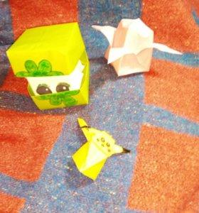фигурки из оригами