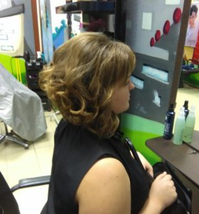 Стрижки, прически, омбре, окрашивание волос и бров
