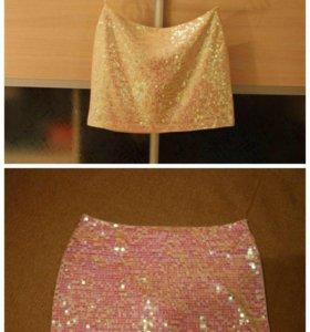 Новая юбка в пайетках