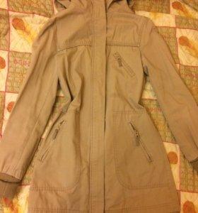 Пальто-куртка женская ,размер 32(xs-s)