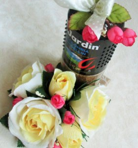 Сладкий подарок из конфет,украшение шоколада