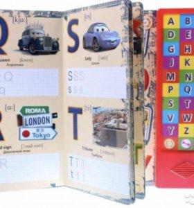 Новая книга ТАЧКИ Английский алфавит