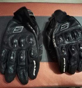 Мотоперчатки five stunt leather air
