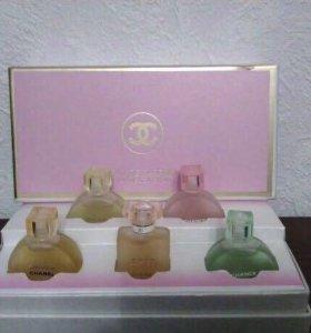 """Подарочный набор """"Chanel 5 флаконов,"""