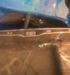 Nissan micra k12 задняя панель