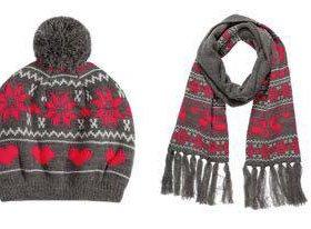 Новый комплект Ostin (шапка и шарф)