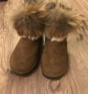 Угги, зимние ботинки на меху